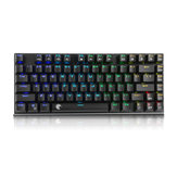 E-Element Z88 81 Schlüssel NKRO USB verdrahtet RGB Backlit Mechanische Gaming Tastatur Outemu Blue Switch
