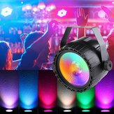 30W RGB + UV COB LED RGB Stage Light DMX remoto DJ Bar Disco KTV Party Natale