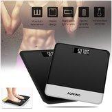 Holmark Electronic LCD Digitial Escala de peso corporal Aptidão Fat Healty Beauty