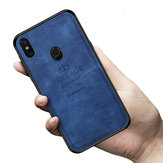 MOFI PINWUYO Cloth Shockproof PU Leather Soft TPU Back Cover Protective Case for Xiaomi Mi MIX 3