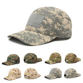 IPRee ™ cámping Tactical Camuflaje Sunhat Ajustable Travel Sunscreen Gorra de Béisbol