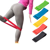 KALOAD Portable Runner Resistance Bands Elastic Sport Latex Belt Fitness Yoga Stretch Bands