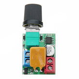 DC 5V To 35V 5A Mini Motor PWM Speed Controller Ultra Small LED Dimmer Speed Switch Governor