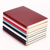 1 pz Soft Copertina in pelle PU Notebook Diario 100 Pagina Diario libro per uso scolastico ufficio