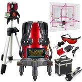 8 ligne kit niveaux laser nivellement faisceau ligne laser rotatif gradienter mètre de trépied