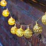 KCASA SSL-12 LED 4.8M 20LED Jardinier Panneau solaire Light Ball Holiday Garden Party Décoration de mariage