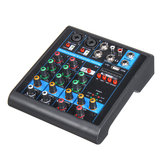 Mini 4 Channels USB Portable Audio Mixer bluetooth Live Studio Audio Mixing Console