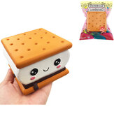 GiggleBread S'more Chocoladekoekje Squishy 9.5 * 9 * 6CM Licensed Slow Rising With Packaging Collection Gift