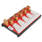 Power Genius PG Parallel Charging Board Supports 5 Packs of 2-6S Lipo Battery XT60 T Plug