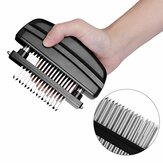 KCASA KC-MH05 Loose Meat Machine Meat Tenderizer Needle with 48 Stainless Steel Blades Kitchen Tools