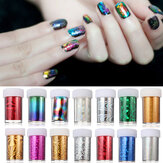 1.2 Meter Acrylic Multicolor Nail Art Transfer Foil Strip Decoration Holo Starry Sky DIY Design