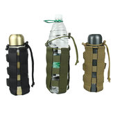 KALOAD AC019 500/2500ml Water Bottle Bag Camping Hiking Tactical Kettle Pouch Portable Cup Storage Bag