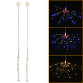 Pulsante Batteria Fornitura 3 modalità fai da te LED Firework Fairy String Light Christmas Party Decor