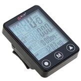 BogeerYT-30824funçõesdebicicleta sem fio do computador botão de toque LCD luzdefundo velocímetro à prova d 'água