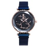 Luxury Simple Starry Sky Crystal Women Quartz Watch