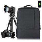 HUWANG 8099 متعددة الوظائف التصوير العالمي للماء Nylon كاميرا DSLR SLR حقيبة الظهر