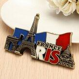 Paris Frankreich Reise-sammelbares Metall stereoscopic Kühlschrankmagnete Tourist-Andenken