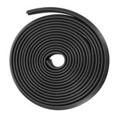 Rubber Sealing Strip Z Type 3M Adhesive Car Door Sound Insulation Weatherstrip For Most Cars Trucks SUV