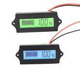 LCD de litio, fosfato de hierro, Batería LiFePO4, plomo ácido, litio, Batería, indicador de capacidad, voltímetro digital, probador 12V
