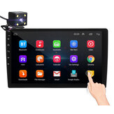 iMars 10.1 بوصة 2Din for أندرويد 8.1 Car MP5 Player 1 + 16G IPS 2.5D لمس شاشة Radio Stereo GPS WIFI FM with Backup الة تصوير
