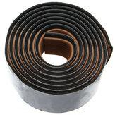 240x5.8x0.5cm Brown&Balck EVA Teak Flooring Faux Imitation Teak Decking Sheet Pad
