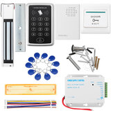 Door Access Control Touchpad Password Magnetic serratura Kit di alimentazione DC 12V