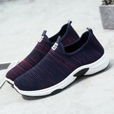 Women Mesh Walking Casual Slip On Shoes