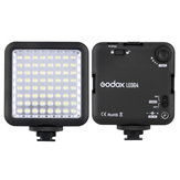 Godox LED64 LED-lamp Videolicht voor DSLR-camera Camcorder mini DVR Interview Macrofotografie