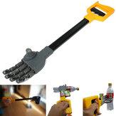 Plástico robô garra grabber mão movimento brinquedo agarrando da vara do menino miúdo e pegar as coisas