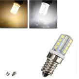 E14 b15 e12 3.5W 200lm smd2835 32 LED bombilla de maíz de la luz de la casa blanca blanco cálido ac 220v