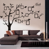 Memory Tree Photo Wall Sticker Woonkamer Huisdecoratie Creatief Decal DIY Muurschildering Wall Art