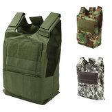 Camouflage Hunting Military Tactical Vest Wargame Body Molle Armor Hunting Jacket CS Outdoor Jungle Equipment