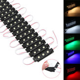 20PCS DC12V SMD5050 Waterproof 3LEDs Module Colorful Decorative Strip Light para casa
