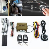 Car Alarm System PKE Centralny zamek z pilotem Push Button Engine Ignition Start Remote