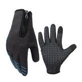 CoolChangeПолныйFingerВелоспортТермальныйветрозащитный Перчатки Сенсорный экран Anti-slip Riding Bike Перчатки