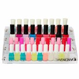 DANCING NAIL 4 Tiers Acrylic Nail Polish Varnish Display Stand Rack Cosmetic Holder Organizer