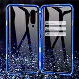 Bakeey 360º Front+Back Double-sided Full Body 9H Tempered Glass Metal Magnetic Adsorption Flip Protective Case For Xiaomi Mi 9 SE