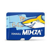 MIXZA Shark Edition Memory Card 64GB TF Card U3 Class10 For Smartphone Camera MP3