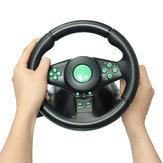 Volant de jeu de course pour console de jeu XBOX 360 PS2 pour PS3 Volant de voiture pour voiture avec vibrations PC