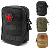 900D Nylon Tactical Molle Waist Bag Medical First Aid Utility Emergency Pouch