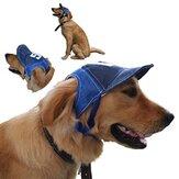 Yani HP-PT11調節可能なペット用帽子屋外旅行野球帽日保護犬用帽子夏用ペット帽子
