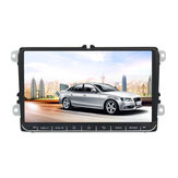 9 Inch voor Android 8.1 Auto Stereo MP5 Speler 1 + 16G Quad Core 2 DIN Touchscreen GPS bluetooth WIFI voor VW Skoda Seat