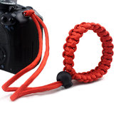 IPRee® Outdoor EDC Survival Bracelet Camera Pendant Rope Hanging Srap Emergency Paracord Lanyard