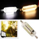 R7S LED Bulb 8W 78MM SMD 3014 108 Pure White/Warm White Corn light Lamp 220V-240V