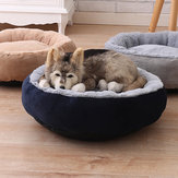 3 Colors Anti-scratch Winter Warm Pet Bed Kennel Dog Cat Soft Plush Nest Pet Bed