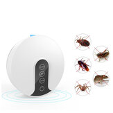 5V 10W Ultrasonic Electric Mosquito Dispeller Repeller Insect Bug Mouse Zapper Pest Trap Electronic Cat