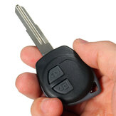2 Button Remote Key Fob Case Shell + Rubber Pad for Suzuki Swift Ignis Alto SX4