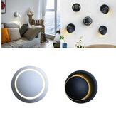 5W moderne 360 graden draaiende LED Blaker Wandlamp Wit / Warm Wit Indoor decoratieve Lamp AC220V