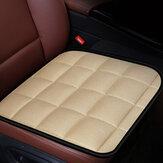 General Simple Comfort Plush Авто Подушка сиденья Нескользящая дышащая подушка Моющаяся