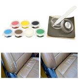 ArabaKoltukDeriOnarımıParçalarSandalye Koltuğu Vinyl Scratch Removal 7 Renks için Mevcut